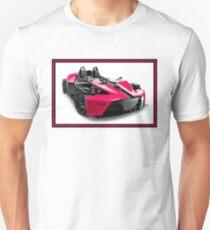 MUSCLE FUTURISTIC: Grand Prix Race Car Print Unisex T-Shirt