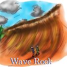 Wave Rock - Western Australia by David Fraser