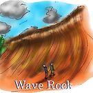 Wave Rock - Western Australia by David Fraser