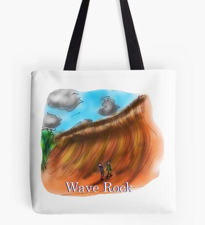 Wave Rock - Western Australia Tote Bag
