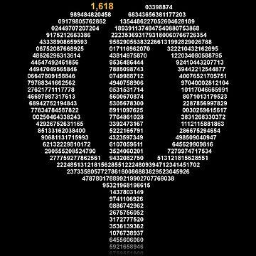 Phi : The Golden Number by tomfevrier