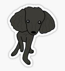 Minnie B Poodle Sticker
