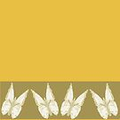 Golden Butterflies see also kazm gilded-butterfly by KazM
