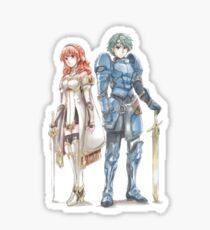 Celica&Alm - Fire Emblem Echoes Sticker