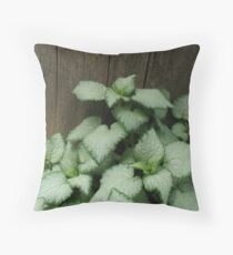 It's those quiet moments... Throw Pillow