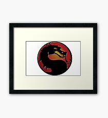 Mortal Kombat Framed Print