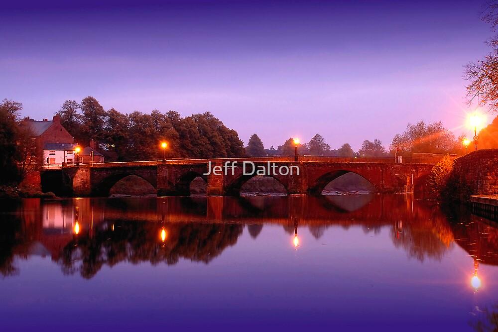 Dawn Reflection on the Dee by Jeff Dalton