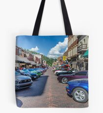 Ford Mustang Rally Deadwood SD  Tote Bag