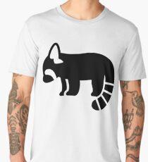 Red Panda Silhouette Men's Premium T-Shirt