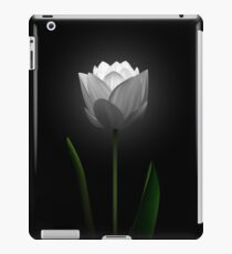White Tulip iPad Case/Skin