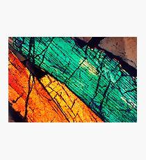 Epidote & Quartz Photographic Print