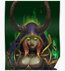 Demon Hunter Blood Elf  Poster