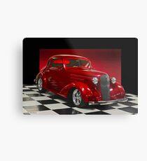 1936 Chevrolet 'Five Window' Coupe Metal Print