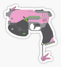 Pegatina D.VA Gun