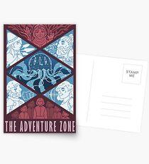 Postales La zona de aventura