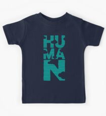 HUMAN (marrs green) Kids Tee