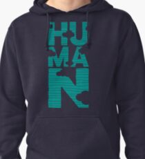 HUMAN (marrs green) Pullover Hoodie