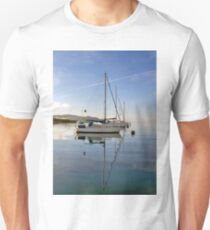 Four Yachts Moored T-Shirt