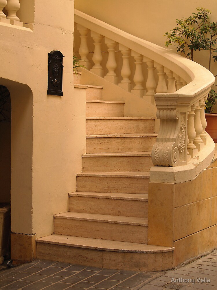 External Staircase in Victoria by Anthony Vella
