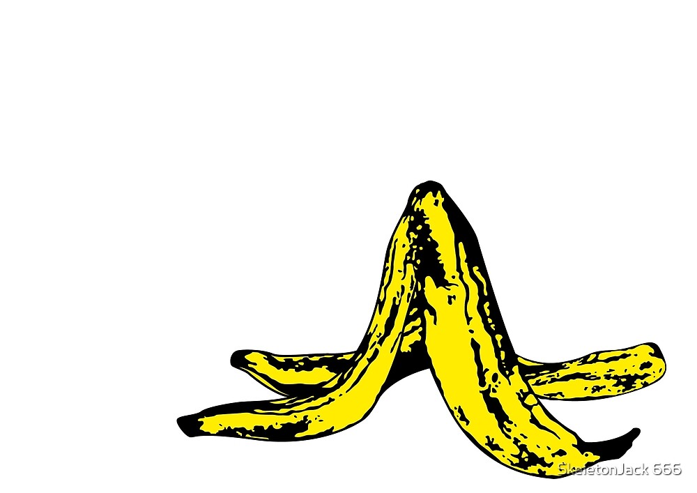 Banana Peel by SJ-Graphics