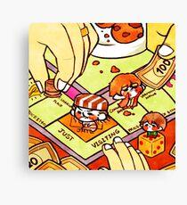 Tinies-Monopoly Canvas Print