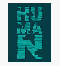 HUMAN (marrs green) Photographic Print