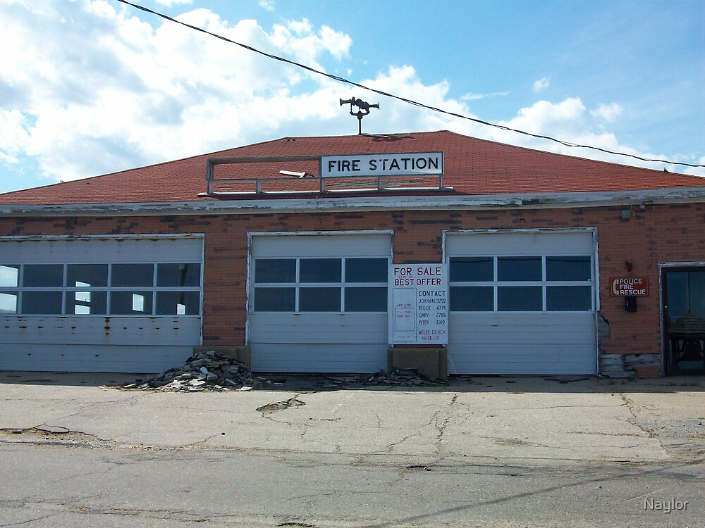 Old Fire Station by Naylor
