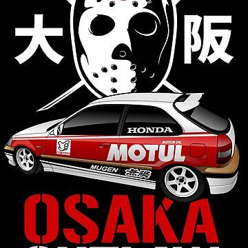 KANJOZOKU - Osaka Outlaw by aquillacallista