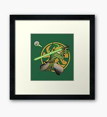 Legend of Zelda May the Link Be with you Framed Print