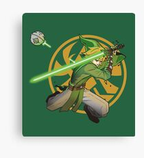 Legend of Zelda May the Link Be with you Canvas Print