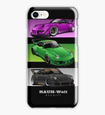 RWB - Three Masterpiece iPhone Case/Skin