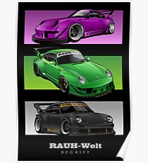 RWB - Three Masterpiece Poster