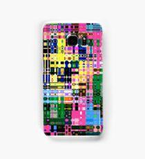 Rainbow Matrix Samsung Galaxy Case/Skin