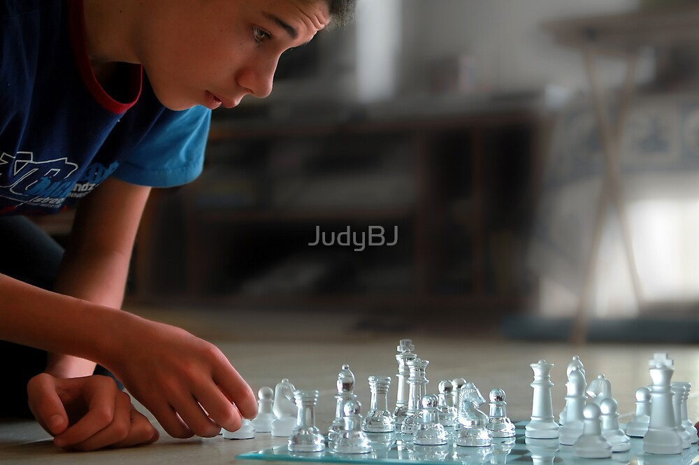 Chess candid  by JudyBJ