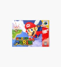 Mario 64 box art  Art Board