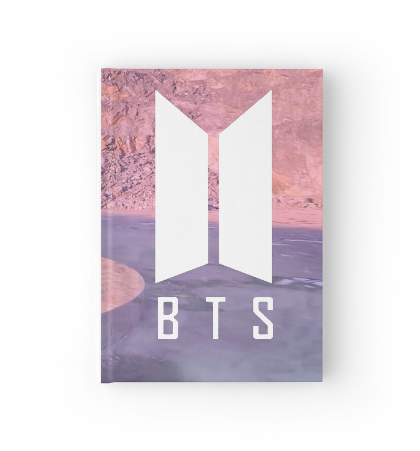"""bts logo phone case "" Hardcover Journals by softseb ..."
