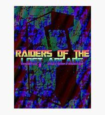 Raiders Of The Lost Arcade Photographic Print