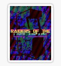 Raiders Of The Lost Arcade Sticker