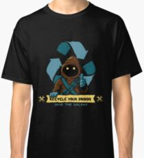 Recyclez vos droïdes - Jawa T-shirt classique