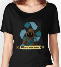 Recycle your droids - Jawa Women's Relaxed Fit T-Shirt