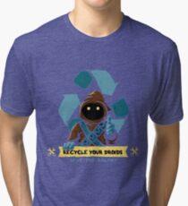 Recycle your droids - Jawa Tri-blend T-Shirt