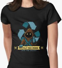 Recycle your droids - Jawa Women's Fitted T-Shirt