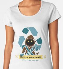 Recycle your droids - Jawa Women's Premium T-Shirt