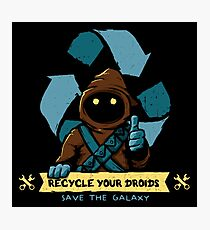 Recycle your droids - Jawa Photographic Print