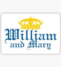 Corona Styled College of William and Mary Design Sticker Sticker