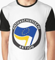 pro-EU Antifa Graphic T-Shirt