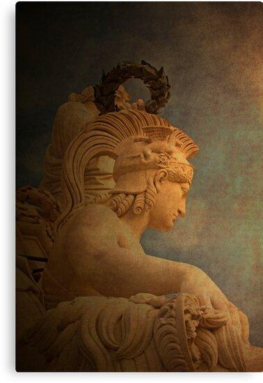 VALOR. Virtue.  by terezadelpilar ~ art & architecture