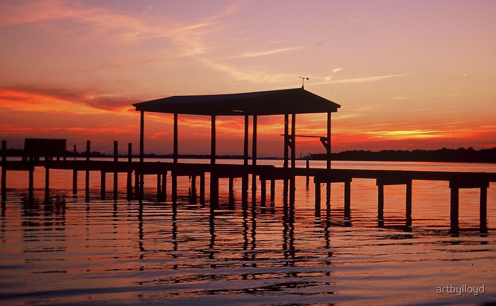Evening sunset by artbylloyd