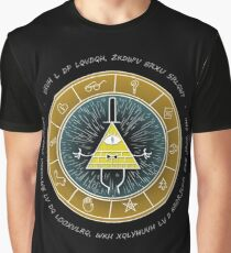Gravity Falls - Bill Cypher Graphic T-Shirt