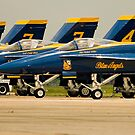 Angels in the line up by Paul Lenharr II